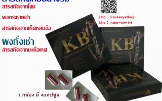 KB ยาผู้ชายเสริมสมรรถภาพ